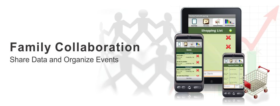 Share Data and Organize Events